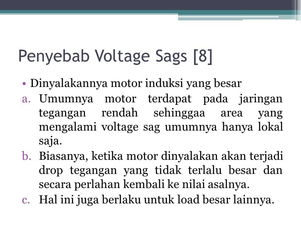 Penyebab Voltage Sags [8]